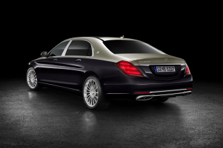 Mercedes Maybach S560 2018 sfondi gratuiti per Widescreen Desktop PC 1440x900