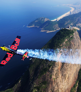 Red Bull Airplane papel de parede para celular para iPhone 6