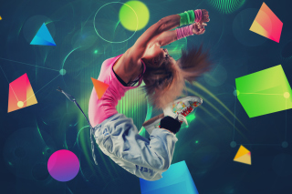 Break Dancer Background for Android, iPhone and iPad