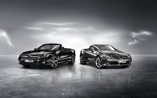 Mercedes Benz SLK Wallpaper for Android, iPhone and iPad