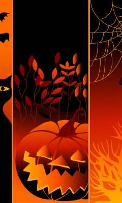 Screenshot №1 pro téma Happy Halloween 240x400