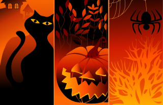 Happy Halloween Wallpaper for Nokia X2-01
