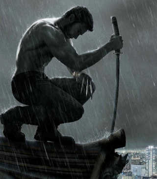 The Wolverine Movie - Fondos de pantalla gratis para Nokia Asha 306