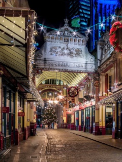 Screenshot №1 pro téma London Leadenhall Market 240x320