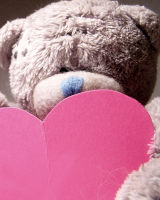 Plush Teddy Bear Wallpaper for Nokia C1-01