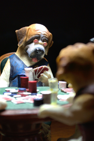 Dogs Playing Poker para Huawei G7300