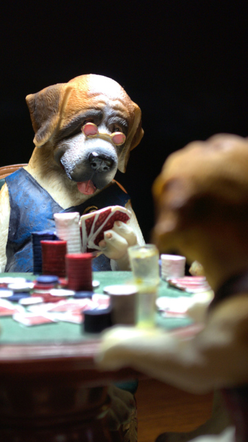 Screenshot №1 pro téma Dogs Playing Poker 360x640