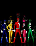 Screenshot №1 pro téma Power Rangers 128x160