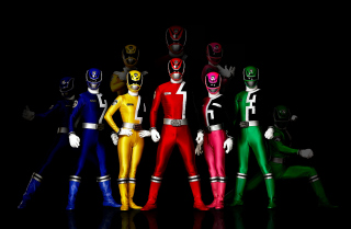 Power Rangers Background for Android, iPhone and iPad