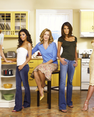 Desperate Housewives Background for Nokia Asha 306