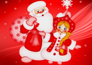 Santa Claus Wallpaper for Android, iPhone and iPad
