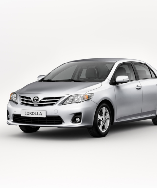 Toyota Corolla Wallpaper for Nokia Asha 311