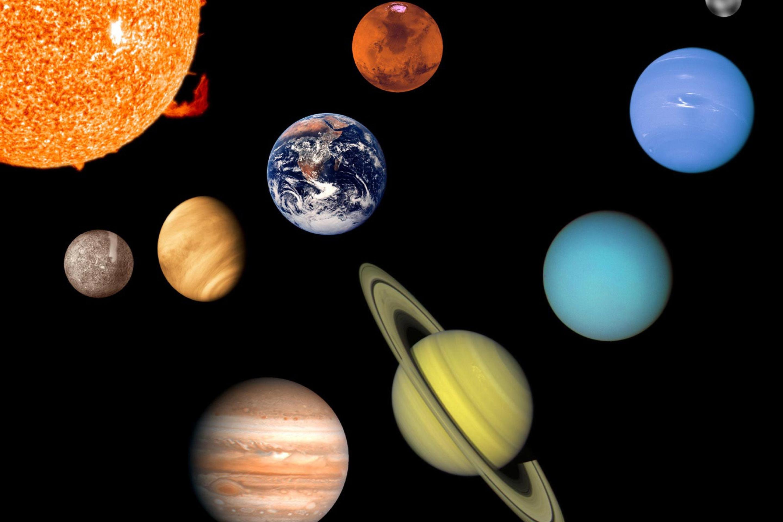 planets galaxy solar system star size - HD2880×1920