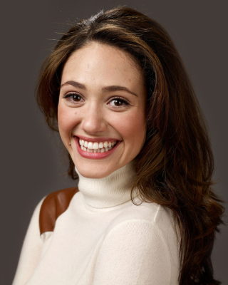 Emmy Rossum Smiling Background for HTC Titan