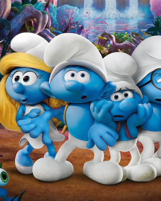 Smurfs The Lost Village Wallpaper for Nokia C1-01