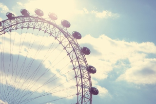 Ferris Wheel Wallpaper for Android, iPhone and iPad