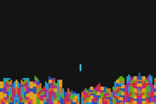 Fullscreen Tetris Wallpaper for Android, iPhone and iPad