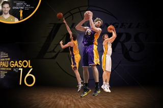 Pau Gasol Basketball Palyer Background for Android, iPhone and iPad