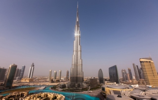 Dubai - Burj Khalifa Wallpaper for Android, iPhone and iPad