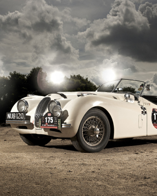 Free Jaguar XK120 Picture for HTC Titan