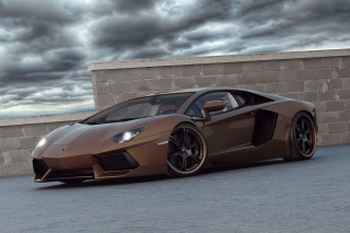 Free Lamborghini Aventador LP800 Picture for Android, iPhone and iPad