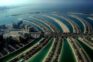 Free Palm Island Dubai Picture for Android, iPhone and iPad