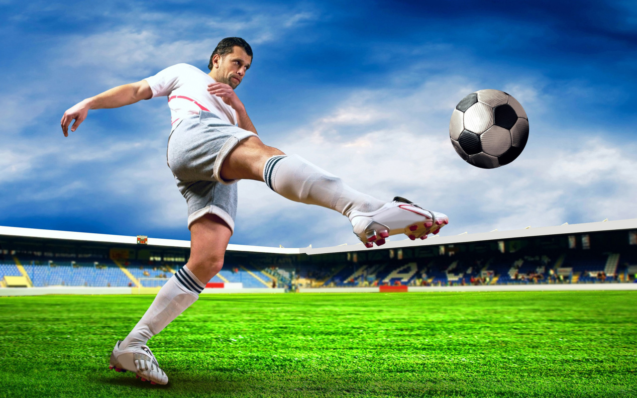 Screenshot №1 pro téma Football Player 1280x800