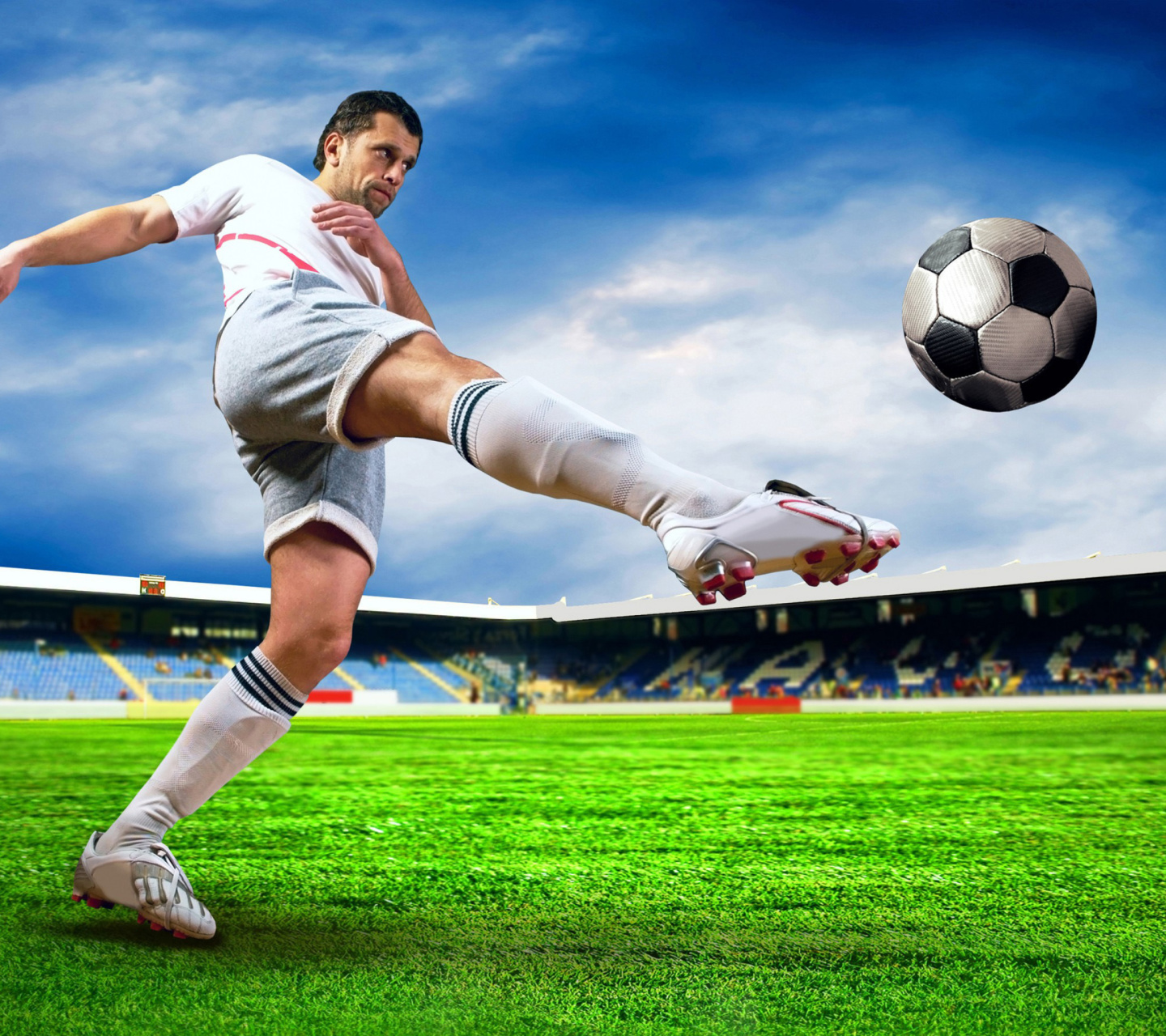 Screenshot №1 pro téma Football Player 1440x1280