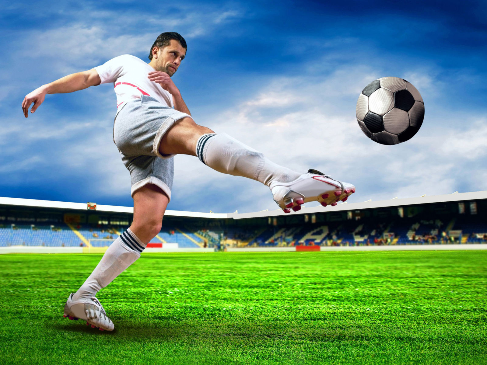Screenshot №1 pro téma Football Player 1600x1200