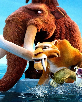 Ice Age 4 sfondi gratuiti per iPhone 4S