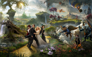 Oz The Great And Powerful 2013 Movie - Obrázkek zdarma pro Fullscreen Desktop 800x600