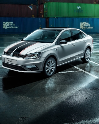 Volkswagen Polo GT in Garage Background for Nokia C1-01