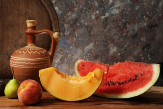 Fruits And Wine Still Life sfondi gratuiti per cellulari Android, iPhone, iPad e desktop