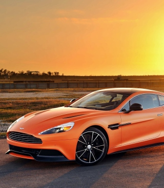 Aston Martin Vanquish Background for Nokia Asha 310