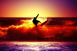Surfing Wallpaper for Android, iPhone and iPad