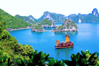 Vietnam Attractions Wallpaper for Android, iPhone and iPad