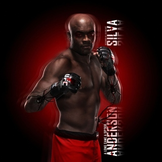 Anderson Silva UFC Wallpaper for iPad 3