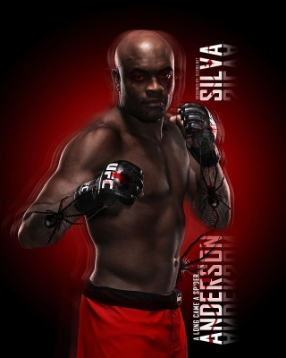 Anderson Silva UFC Wallpaper for Nokia C2-02