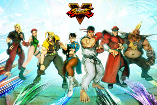 Street Fighter V 2016 Background for Android, iPhone and iPad