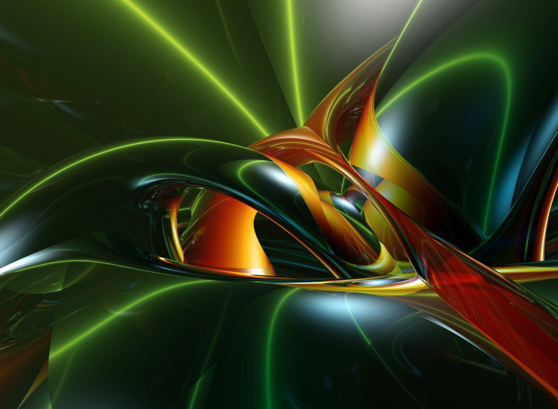 Screenshot №1 pro téma Inspiring Abstract 3D 1920x1408