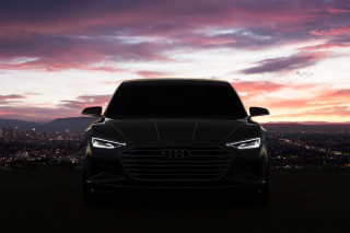 Audi Prologue Concept Car First Drive sfondi gratuiti per HTC Desire HD