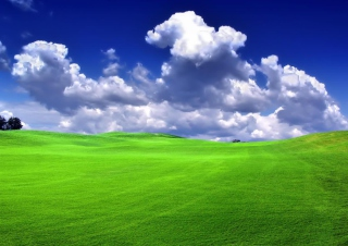 Free Windows XP Sky Picture for 1366x768
