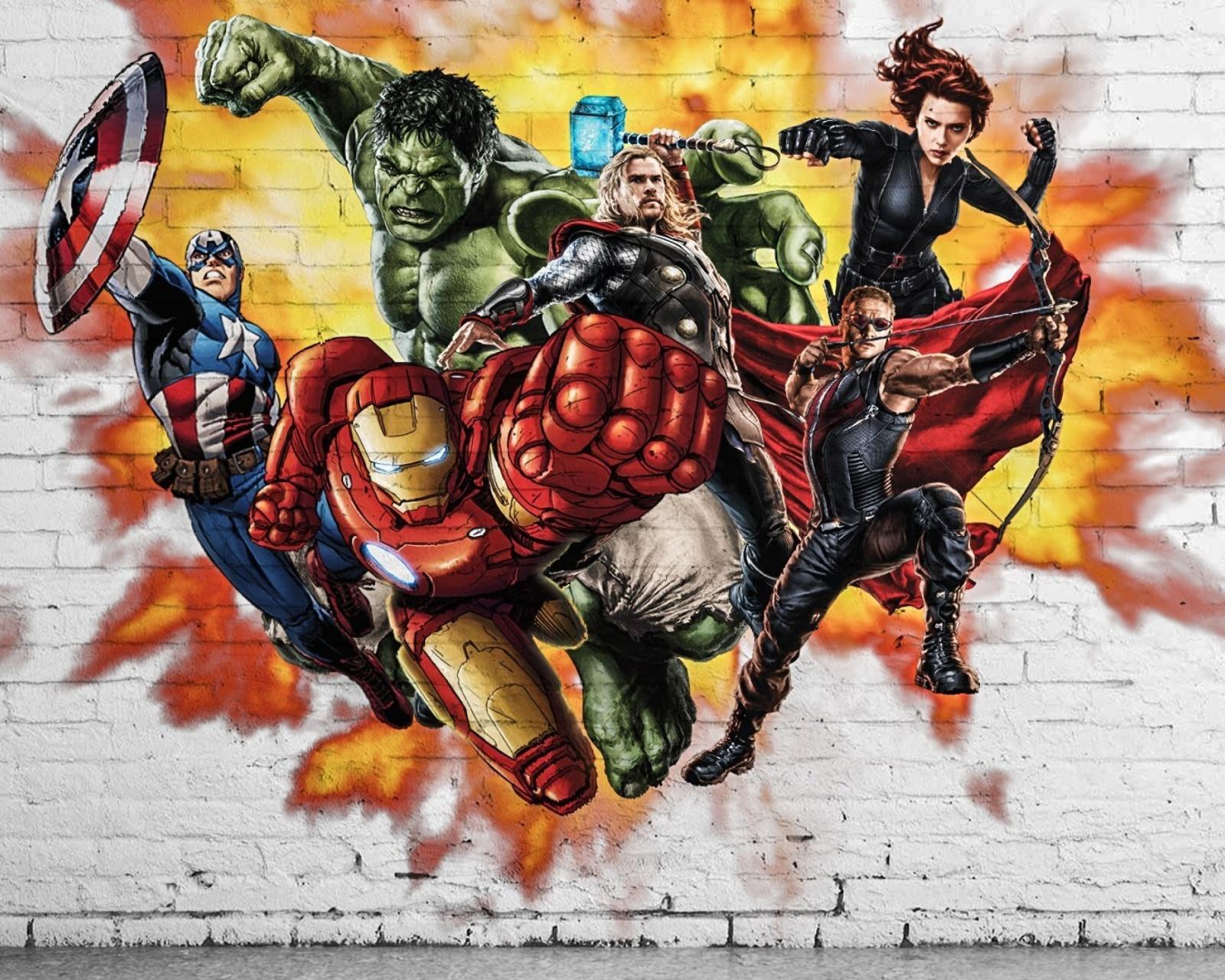 Крутые нарисованные картинки для пацанов супергерои