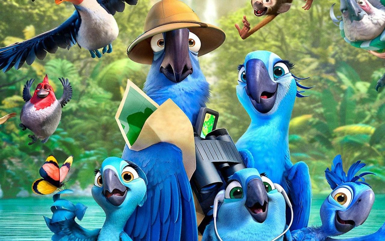 картинки из рио все птицы
