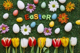 Easter Holiday Background for 1600x1200