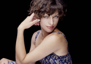Milla Jovovich Wallpaper for Android, iPhone and iPad