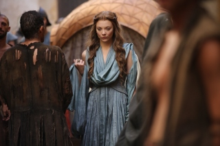 Game Of Thrones Margaery Tyrell sfondi gratuiti per Samsung Galaxy Note 2 N7100