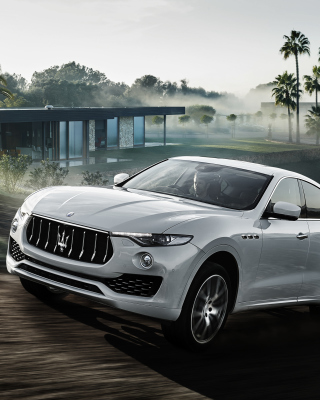 Maserati Levante sfondi gratuiti per iPhone 6 Plus