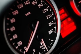 BMW Diesel Speedometer Picture for Android, iPhone and iPad