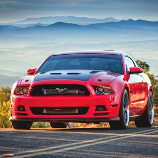 Free Ford Mustang Picture for iPad mini